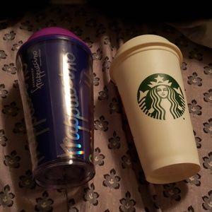 2 Starbucks cups❤️